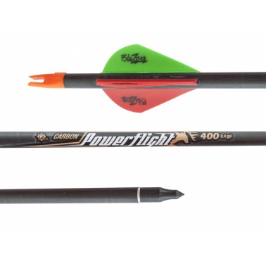 "Šíp carbon 30"" Easton Power Flight 400 Bohning"