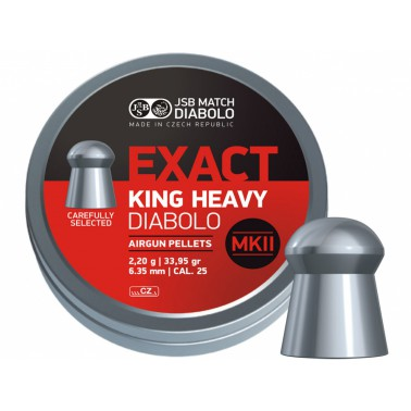 Diabolo JSB Exact King Heavy MKII 150ks cal.6,35mm