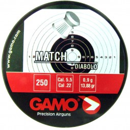 Diabolo Gamo Match 250ks cal.5,5mm