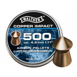 Diabolo Walther Copper Impact 500ks cal.4,5mm