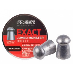 Diabolo JSB Exact Jumbo Monster Redesigned 200ks cal.5,52mm